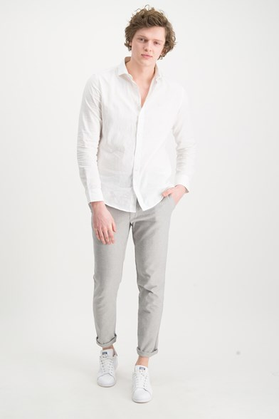 Italian Made Doby Stretch Trouser