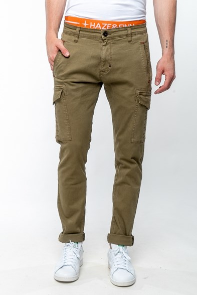 Stretch Regular Fit Cargo Trouser