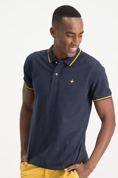 Modern Fit Classic Tipped Polo