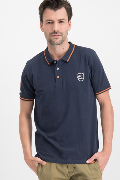 Modern Fit Tipped H&F Badge Polo