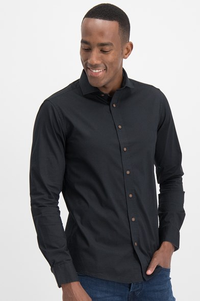 Italian Fit Poplin Stretch Shirt