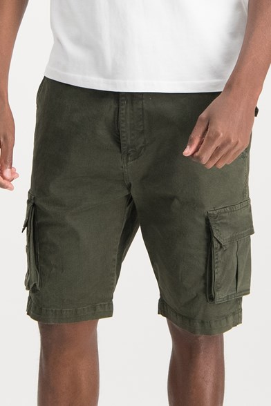 Regular Fit Cargo Stretch Short
