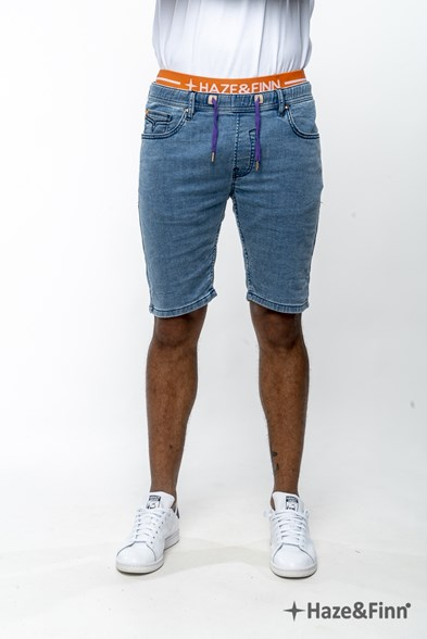 Jog Denim Stretch Short