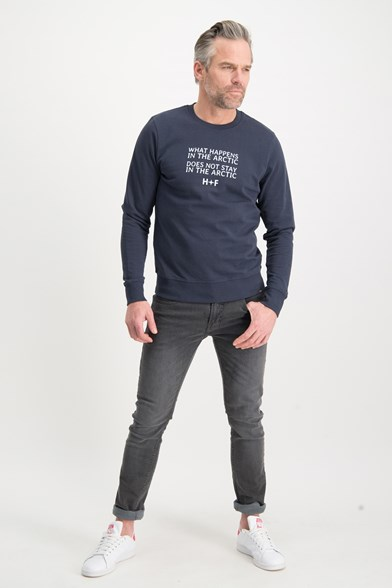 Arctic Quote Crew Neck Sweatshirt