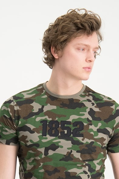 1852 Camo Patchwork T-shirt